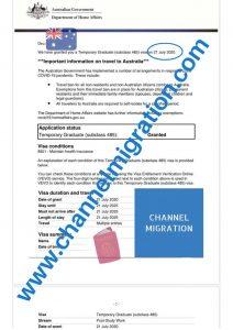 Australia Temporary Graduate Visa