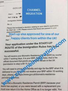 UK Startup Visa Approval